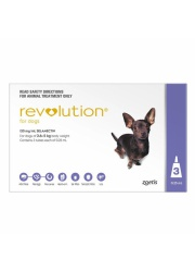 21116-revolution dog 2 6-5kg purple 3packs 1