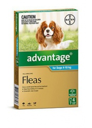 advantage dog 4-10kg 4pack 1