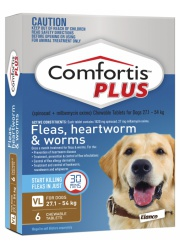 comfortis-plus-brown-for-dogs-27-54-kg-6-pack